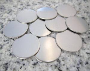discos de acero inxodable