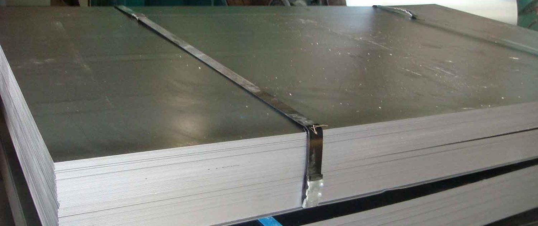 Lamina y placa de acero inoxidable y aluminio for Placa de acero